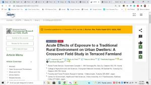 Acute effects of exposure_Lee_2015